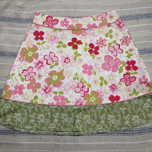 SONOMA Lifestyle Stretch Floral A-line Skirt